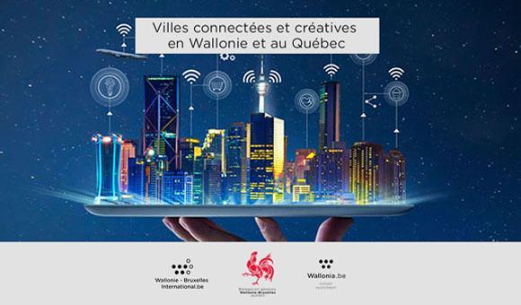 Villes connectées et créatives en Wallonie et au Québec